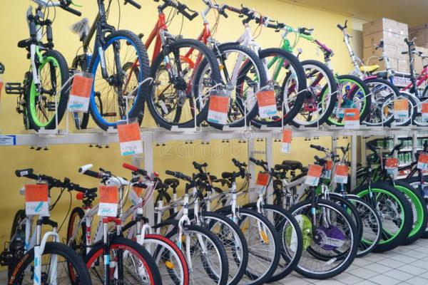 O Estigma da Bicicleta de Supermercado, Lojas de Departamentos e Internet