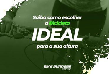 saiba como escolher a bicicleta ideal para o seu tamanho