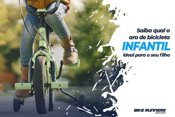 Saiba qual o aro de bicicleta infantil ideal para seu filho