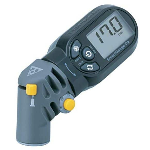 medidor de pressão de ar de bicicleta