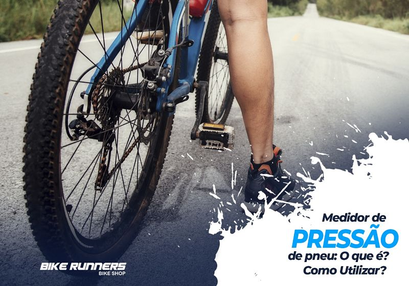 medidor de pressão de pneu de bicicleta como utilizar