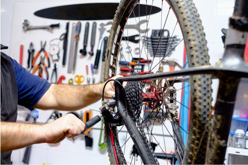 manutenção da bike