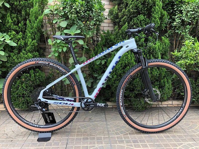 bicicicleta soul krakatoa carbono sram nx eagle 12v customizada