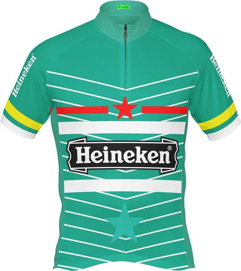 camisa ciclista marca de cerveja