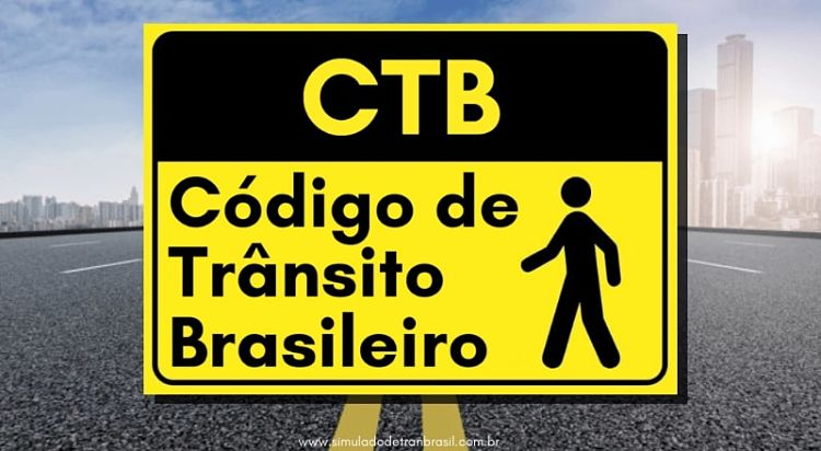 CTB código de trânsito brasileiro