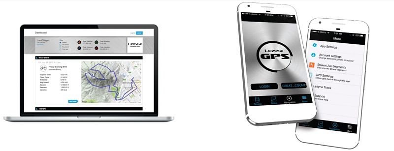 aplicativo GPS LEZYNE