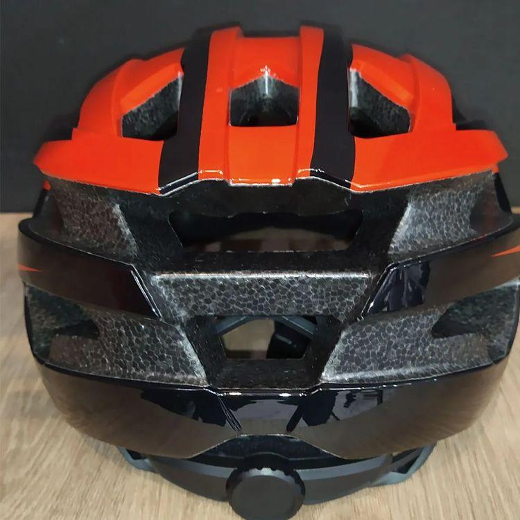 capacete brave 352 vermelho preto ciclismo