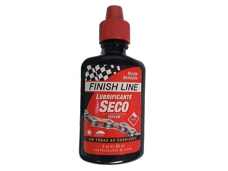 lubrificante finish seco para bike