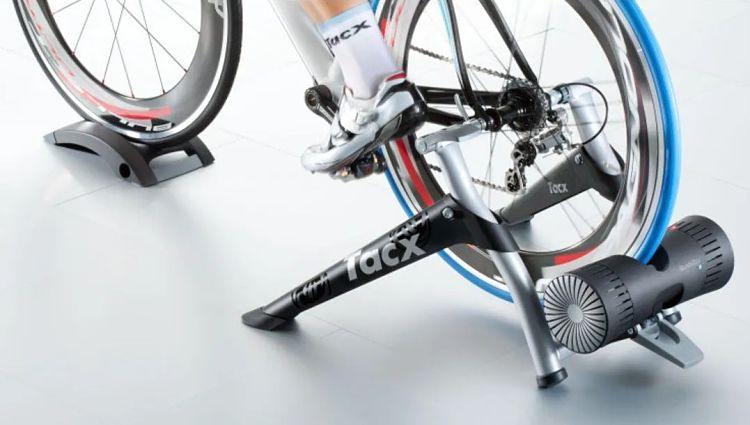 rolo de treino simulação de pedalada