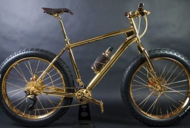 bicicleta de ouro 24 k