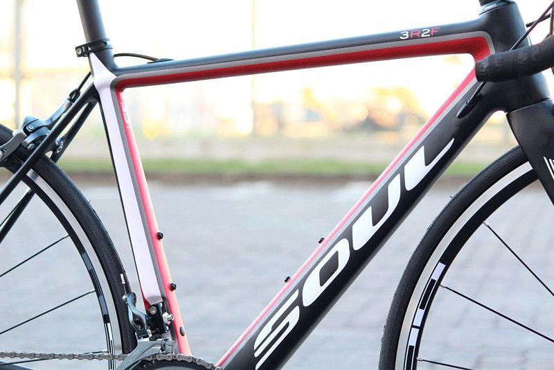 bicicleta estrada carbono shimano tiagra