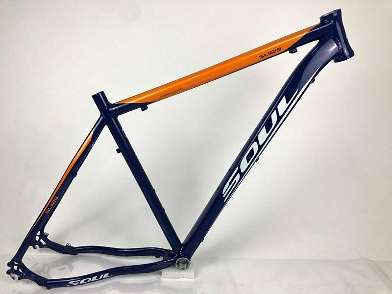 quadro bicicleta aro 29 soul alumínio mtb
