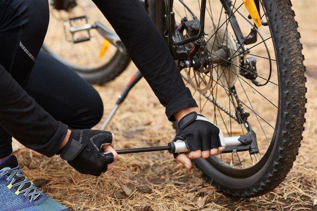 bomba para pneu de bike