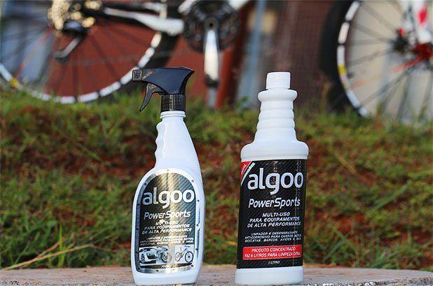 produtos para limpar a bike