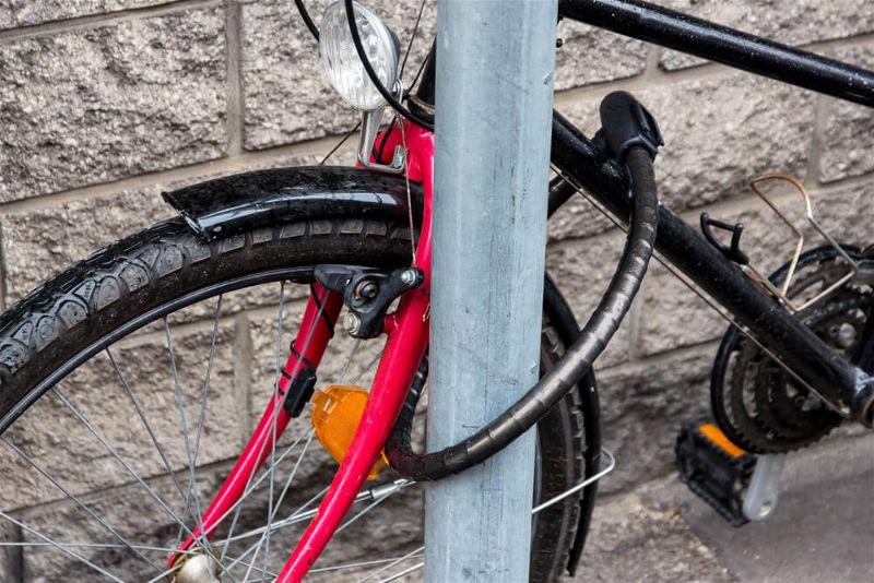 trava de bike
