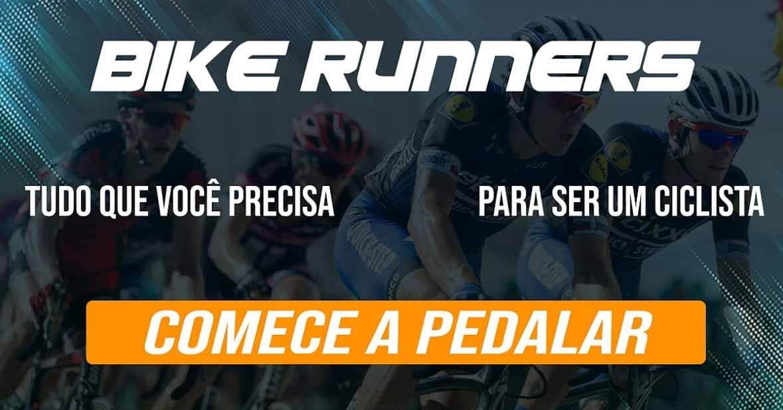 Visite a loja da bikerunners! Temos tudo que você precisa para ser um ciclista. Comece a pedalar!