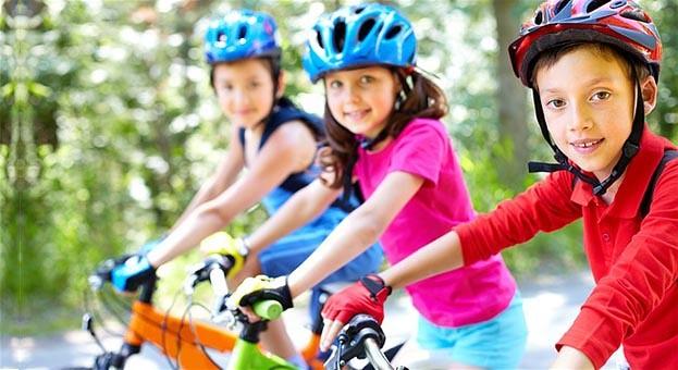 equipamentos de segurança para bike infantil