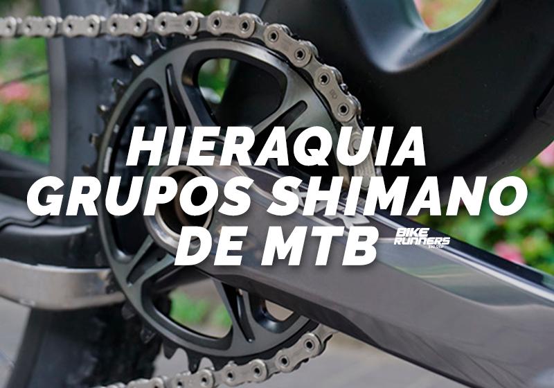 Imagem focada no pedivela e corrente do grupo Shimano XTR de Mountain Bike