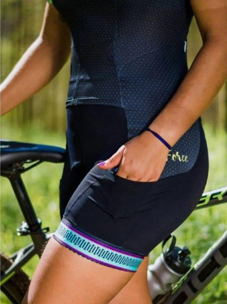 imagem ilustrando o conforto que o macaquinho de ciclismo proporciona