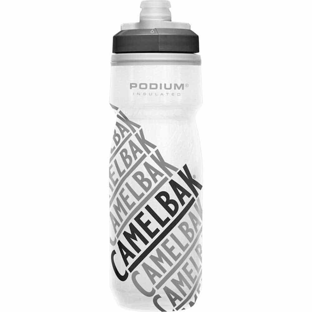 garrafa termica branca da marca camelback