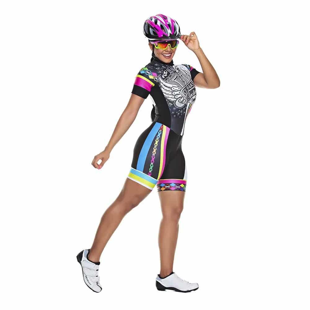 macaquinho de ciclismo da marca dunas cycling