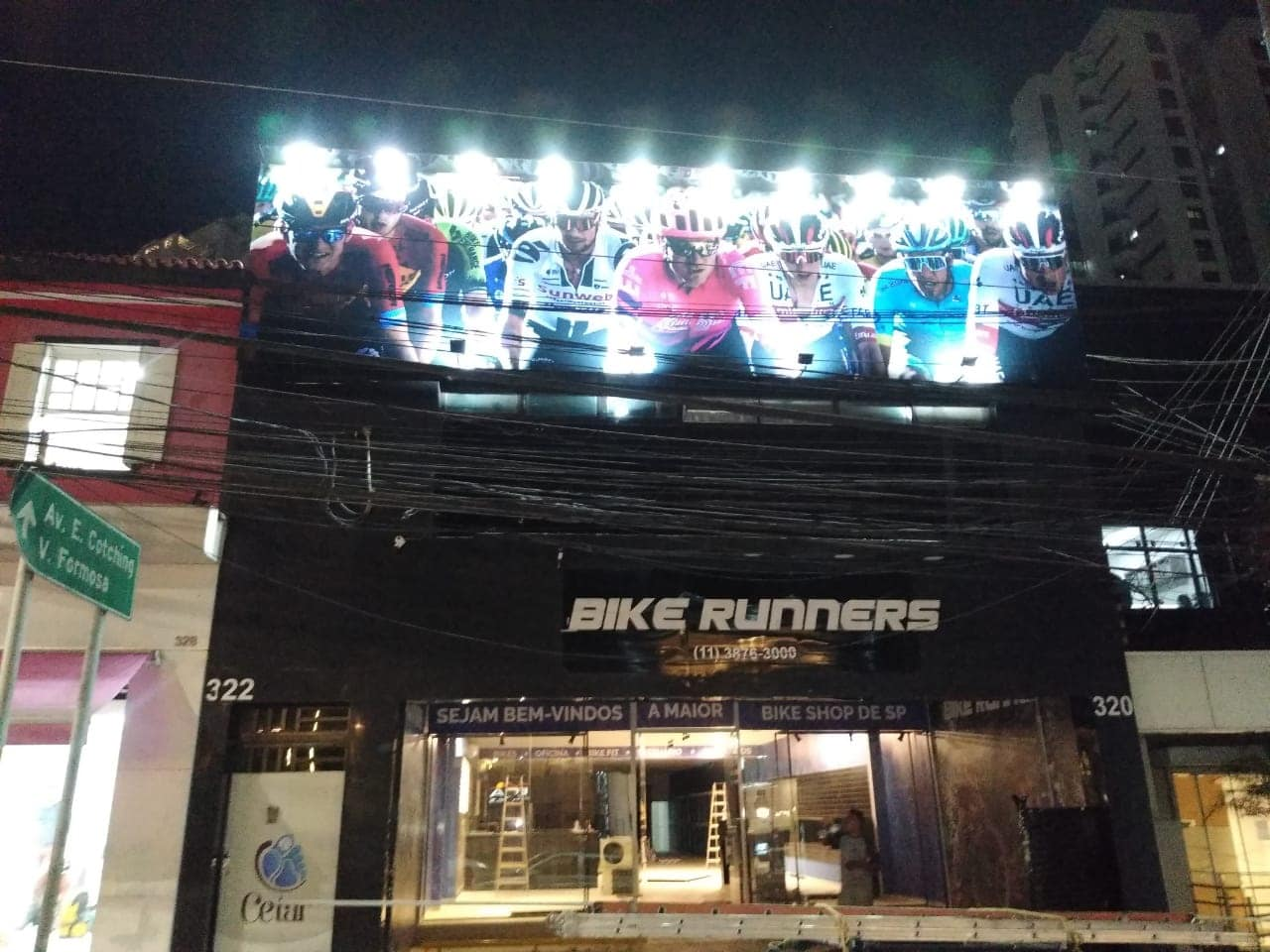 Bike Runners no Analia Franco Tatuapé